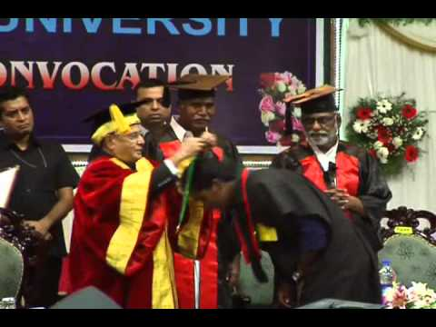 PRESIDENT OF INDIA PRANAB MUKERJEE AT CENTRAL UNIVERSITY