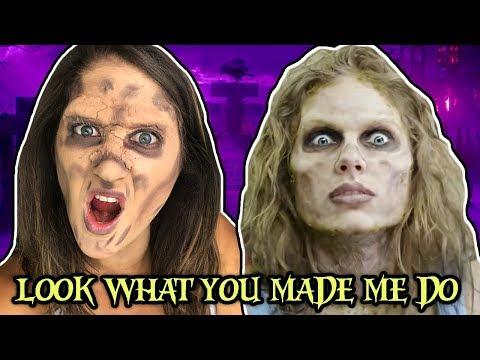 Zombie Taylor Swift Transformation Tutorial | Spooky Taylor Swift Tuesday #77 thumbnail