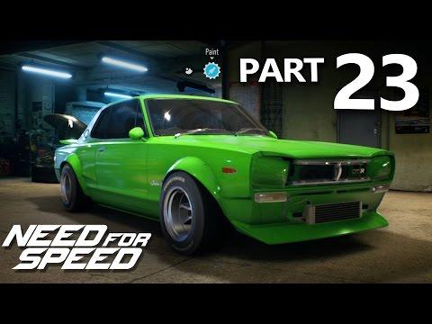 Need For Speed 2015 Gameplay Walkthrough Part 23 - SKYLINE GT-R 1971