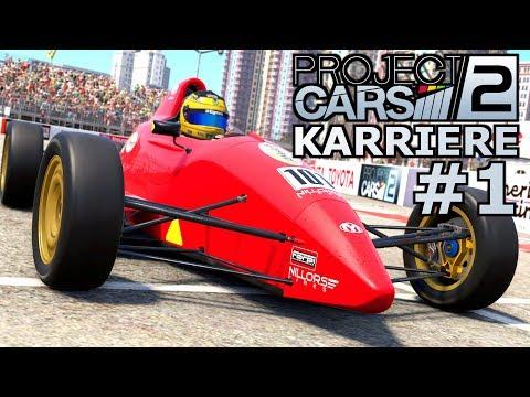 Formula Rookie Karrierestart | Project CARS 2 KARRIERE Gameplay German #1 | Lets Play Deutsch