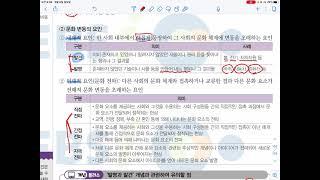 삼괴고등학교 3학년 사회문화 8월 2주차 1차시