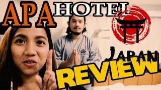 APA Hotels and Resorts APA HOTEL ASAKUSA KAMINARIMON REVIEW TAGALOG LEGIN TV