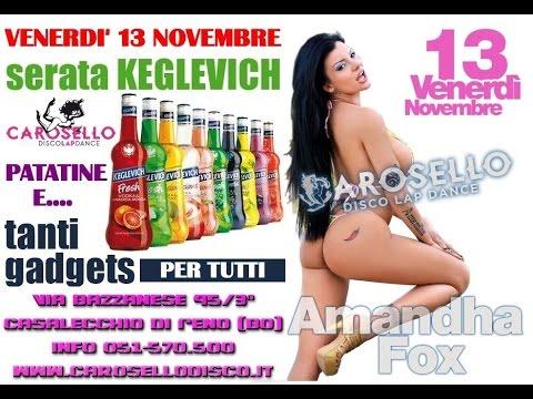Calendario Amandha Fox.Amandha Fox 2 Venerdi 13 Novembre 2015 Carosello Lap Dance