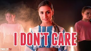 Ed Sheeran & Justin Bieber - I Don't Care - Dance Choreography by Erica Klein - #TMillyTV