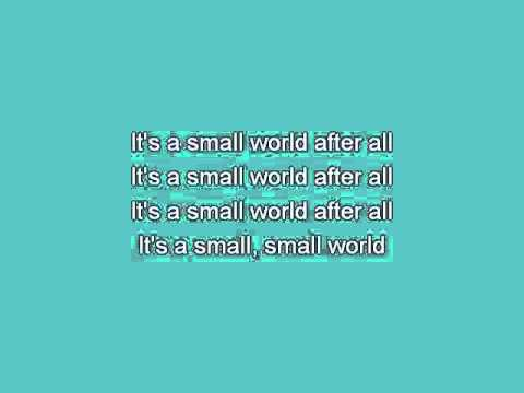 Kids   It's A Small World [Karaoke]