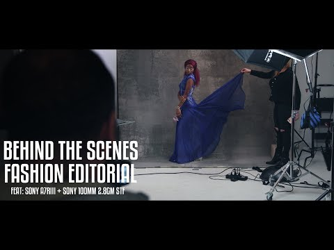 Behind The Scenes: Photographing A Fashion...