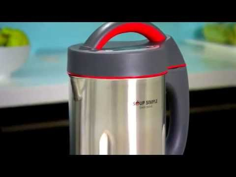 how to clean kambrook soup maker