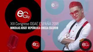 Mikolas Josef en el XIII Congreso de OGAE España 2018 (Parte 4)