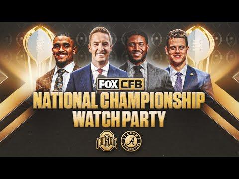 FOX Sports CFP National Championship Watch Party with Joel Klatt and Reggie Bush   CFB ON FOX
