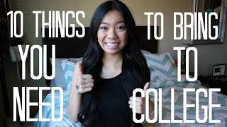 10 Things You Need To Bring To College (Dorm Edition)