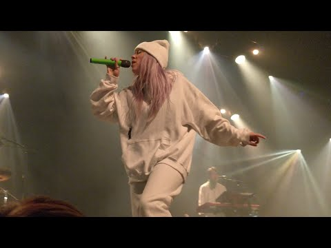 Billie Eilish - &burn, Live In Amsterdam, Melkweg