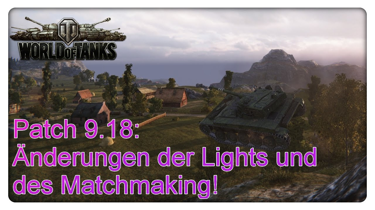 Wot matchmaking for light tanks