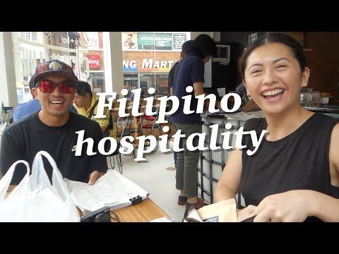 FILIPINO STRANGERS FEED ME FOOD! Manila to Cebu Travel Vlog