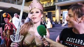 Opiniones Cazcarra. Gala de maquillaje corporal y FX
