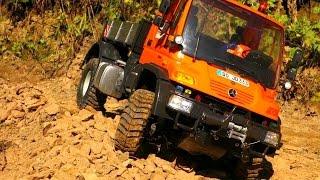 RC UNIMOG Mercedes-Benz Carson Truckline im Braeker Steinbruch | Quarry