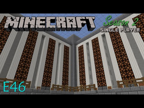 Minecraft LP S2 E46 - Silo Storage