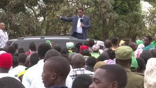 """Gambar cover """"Ntampigia simu Waziri Ummy alete ambulance moja hapa"""". Majaliwa."""