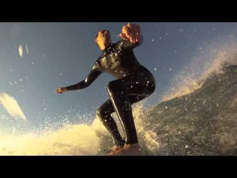 Surf at San Elijo State Beach 01/23/2011