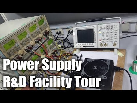 A Tour of FSP's Power Supply R&D Facility