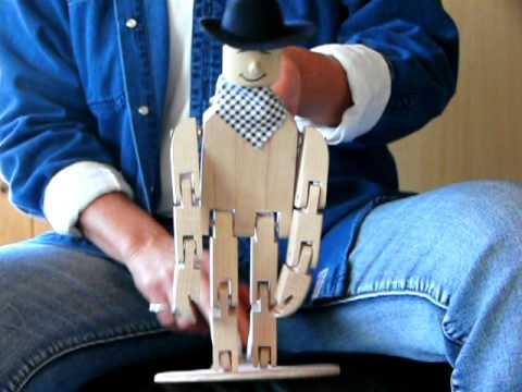 Danseur et cuillere de bois mov youtube for Fabriquer un miroir en bois