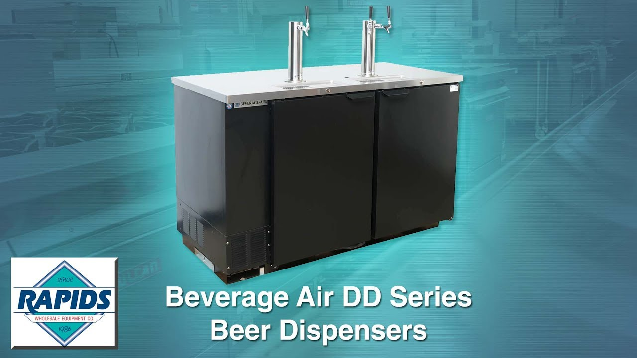 Beverage Air Direct Draw Beer Dispensers at Rapids Wholesale
