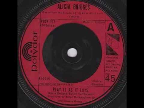 Alicia Bridges  Play It As It Lays 1979
