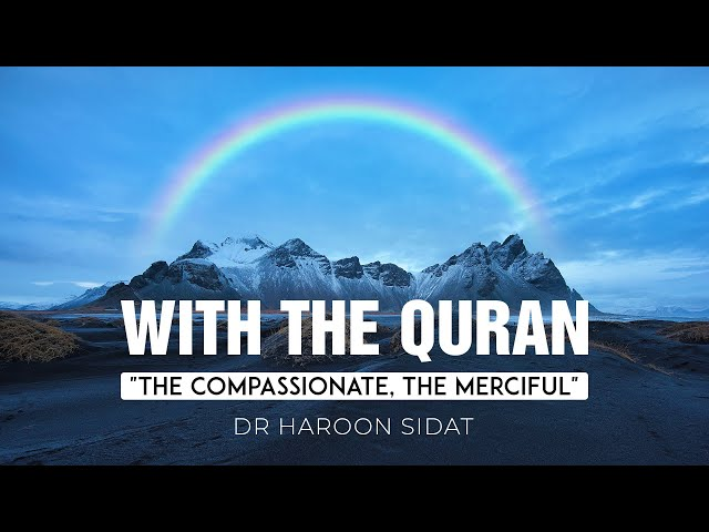 16. With the Quran: