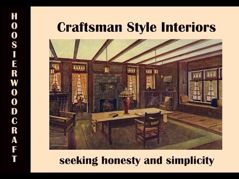 Key Charactistics of Interiors of Craftsman Style