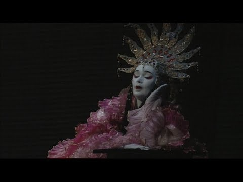 Luana DeVol als Kaiserin in Die Frau ohne Schatten - Sieh - Amme - sieh