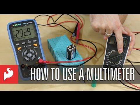 SparkFun How to use a Multimeter