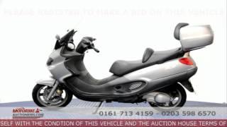 Piaggio X9 250  - www.motorbikeauctioneers.com