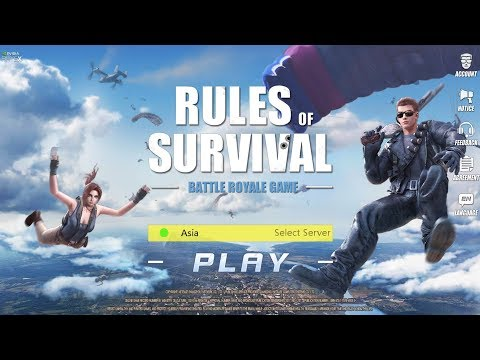 Rules of Survival Gameplay on Oneplus 5
