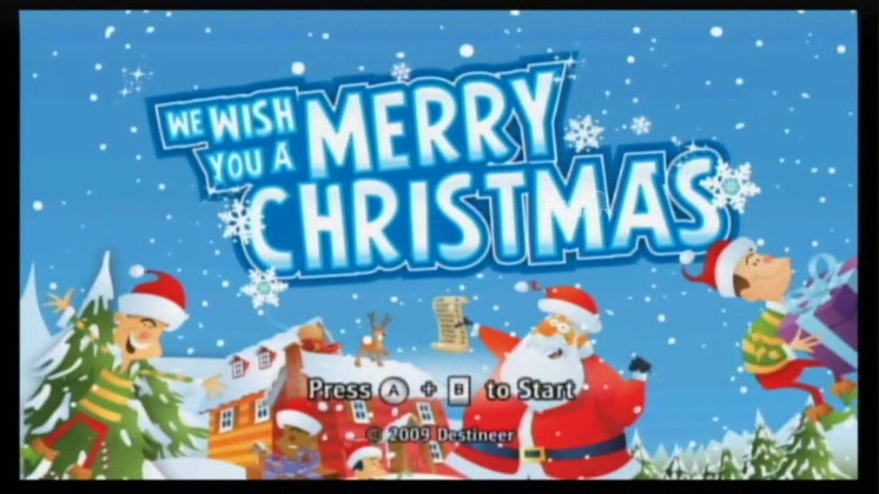 lets play we wish you a merry christmas wii day 20 epic game youtube - Merry Christmas Games