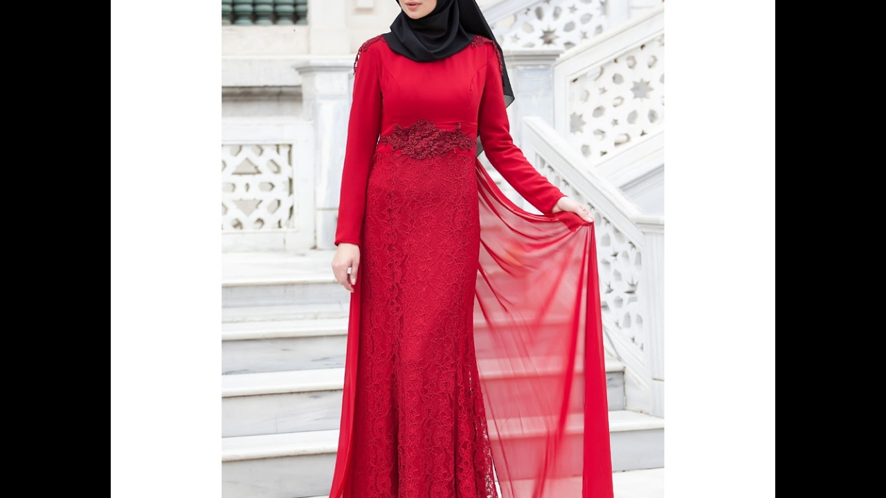 hijab special occasion long gown dress design ideas new islamic wedding dress - Dress Design Ideas