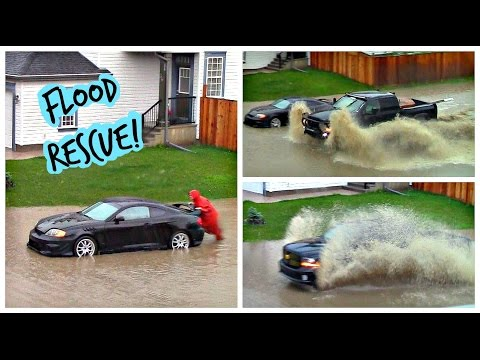 Calgary SE Flooding and Rescue | July 15, 2016 | Urban Beachbum