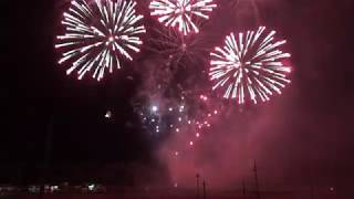 Fireworks show at Crystal Motor Speedway on 09-15-2018!!