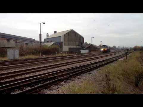 Dawes Lane (Scunthorpe) Freight Inc. RTC 03/12/13 Classes 37/66/185