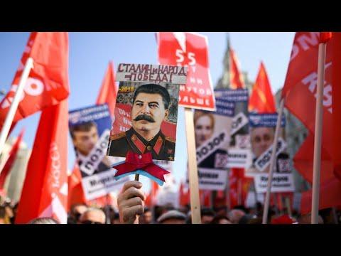 مظاهرات في مدن روسية احتجاجا على مشروع إصلاح نظام التقاعد  - 10:54-2018 / 9 / 3