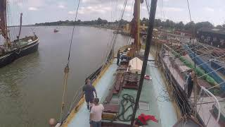 Thames Sailing Barge Centaur -  Available For Charter