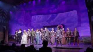 The First Curtain Call at SOMETHING ROTTEN!