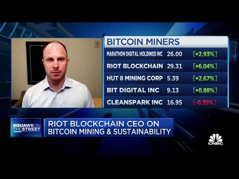 Riot Blockchain CEO on acquiring North America's largest bitcoin miner