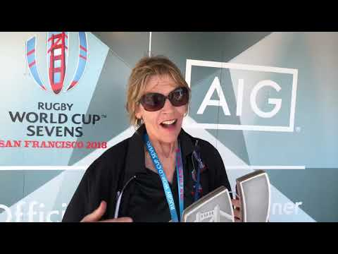Beth Schnitzer At Rugby World Cup Sevens SF