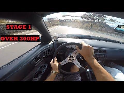 Nissan Silvia S14 Stage 1 - POV BRUTAL SOUND