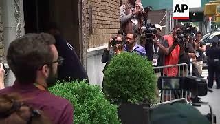 Medical examiner arrives at Kate Spade's NY apartment