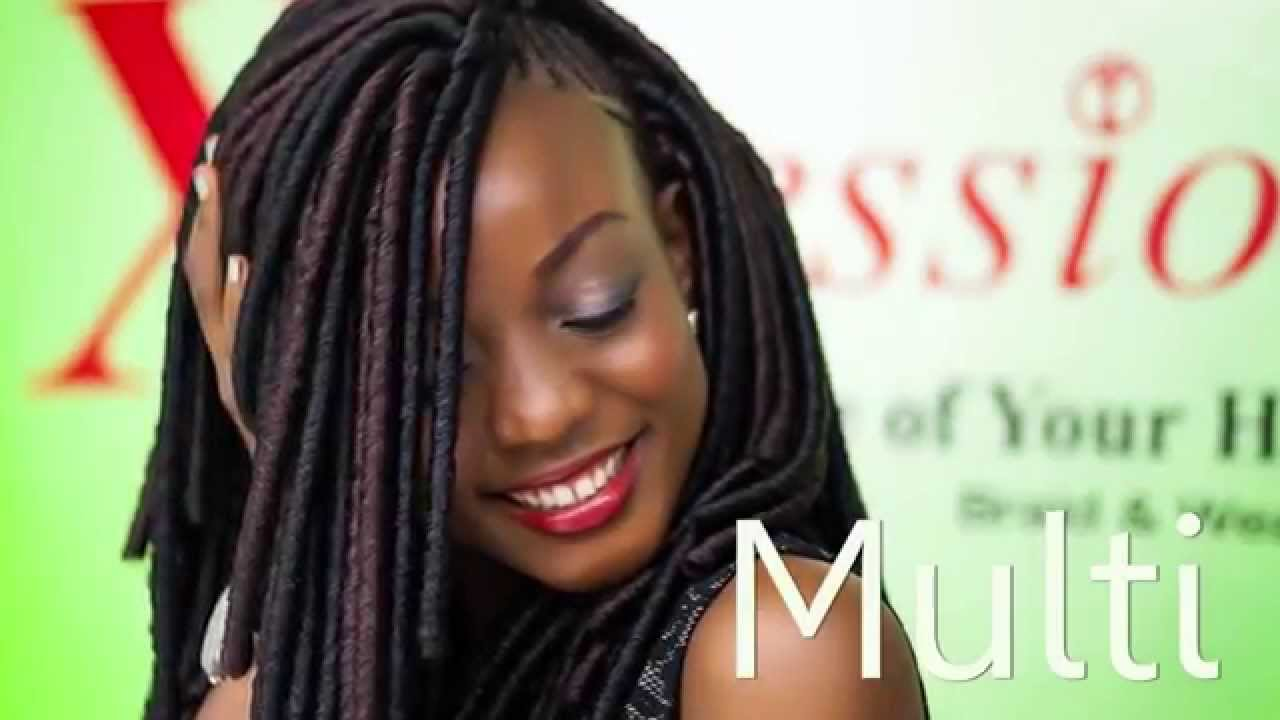 Crochet Braids Expression Multi : Multi by X-Pression - YouTube