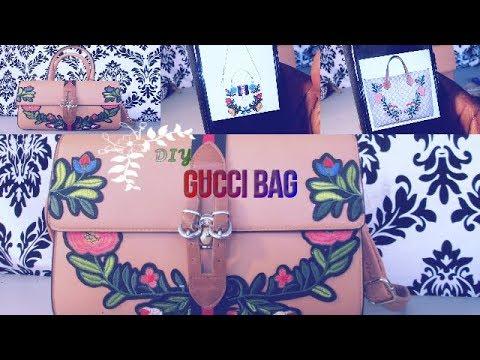 58fd0f8d4a32 DIY GUCCI BAG - YouTube