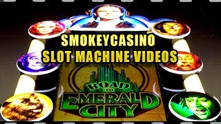 Road to Emerald City Slot Machine - Lion + Glinda Low Bet Win