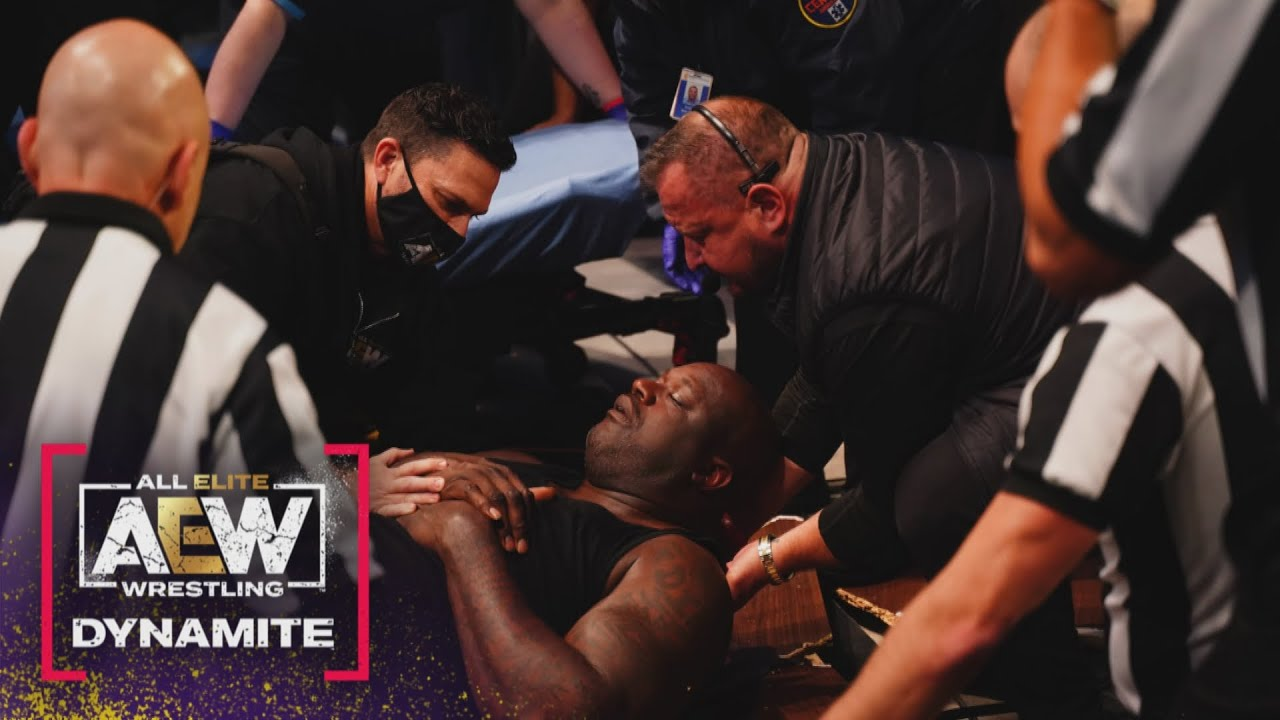 Shaq - The Aftermath   AEW Dynamite