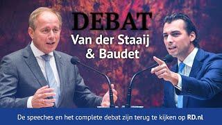 Livestream | Van der Staaij en Baudet in debat | RD.nl
