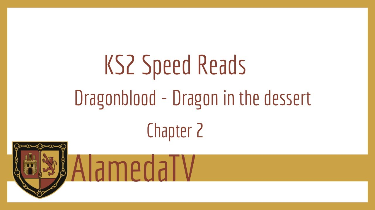 KS2 speed reads - Dragonblood